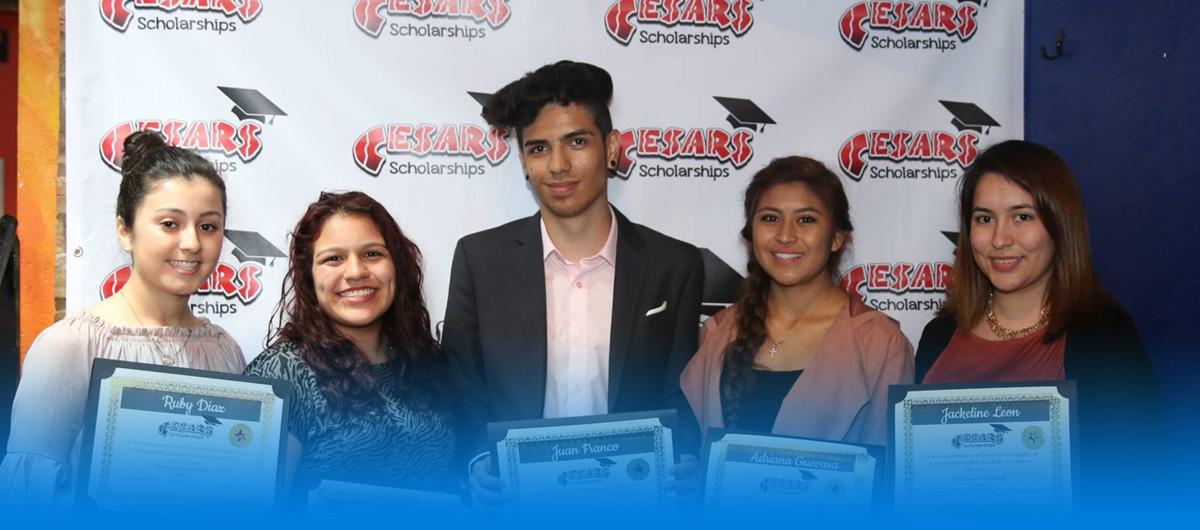 Cesars Scholarship 2017 winners